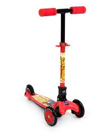 Marvel Spider Man Twist Scooter - Red And Black