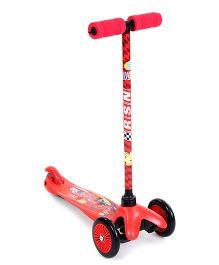Disney Pixar Cars Twist Scooter - Red