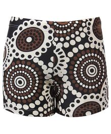 Circle Design Attractive Swim Shorts