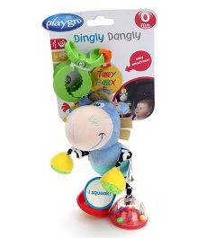 Playgro Toy Box Dingly Dangly Clip Clop Clip On Rattle
