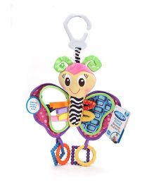 Playgro Activity Blossom Butterfly Clip On Rattle Toy -
