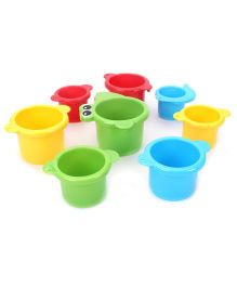 Playgro Crocodile Cups - Multicolor