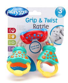 Playgro Grip And Twist Rattle Toy
