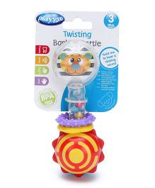Playgro Twisting Barbell Rattle Toy