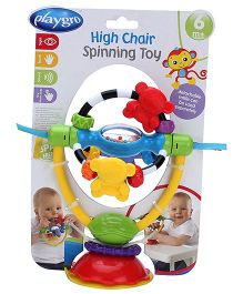 Playgro High Chair Spinning Toy Rattle