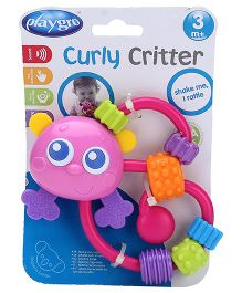 Playgro Curly Critters Butterfly Rattle