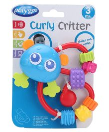 Playgro Curly Critters Panda Rattle Toy
