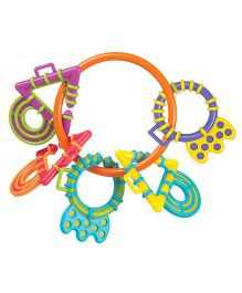 Playgro Teething Links Parent - Multi Color