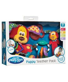 Playgro Puppy Teether Set