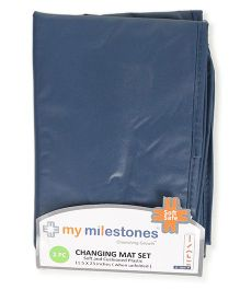 My Milestones Changing Mat Pack of 2 - Blue