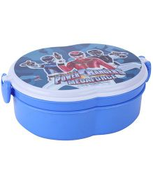 Power Rangers Megaforce Print Lunch Box - Blue And White