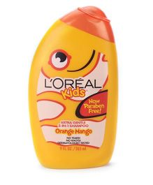 L'Oreal Kids Extra Gentle 2 in 1  Orange Mango Shampoo - 265 ml