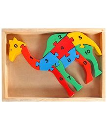 Little Genius - Counting On Camel Wooden  Jigsaw