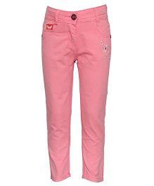 Tales & Stories Designer Full Length Trouser - Pink