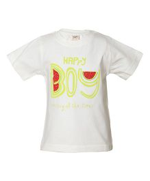 Tales & Stories Watermelon Printed T-Shirt - Off White