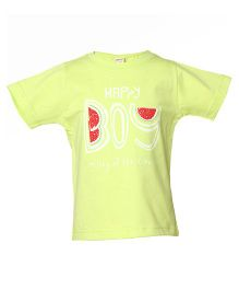Tales & Stories Watermelon Printed T-Shirt - Lemon