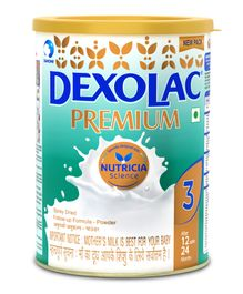 Dexolac Premium 3 Infant Formula - 500 gm Tin