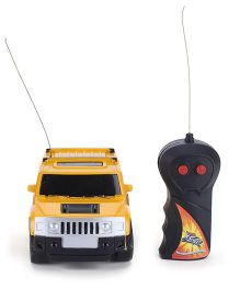 Playmate Mini Remote Controlled Race Car Toy - Yellow