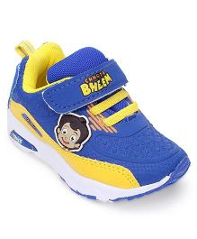 Chhota Bheem Sports Shoes With Velcro Closure - Blue