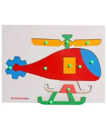 Little Genius -  Wooden Helicopter
