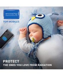 Envirochip Radiation Protector Chip For Mobile Phone - Navy Blue