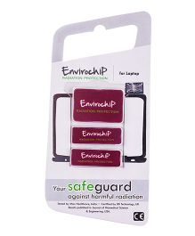 Envirochip Radiation Protector Chip For Laptop - Red