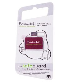 Envirochip Radiation Protector Chip For Tablet - Red