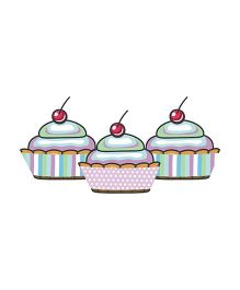 Prettyurparty Baby Shower Cupcake Wrappers - Multi Color