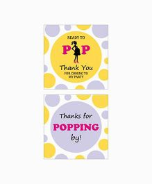 Prettyurparty Ready To POP Baby Shower Thank You Cards