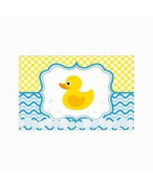 Prettyurparty Rubber Ducky Baby Shower Table Mats