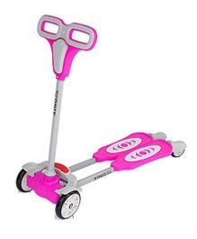 The Flyer's Bay 4 Wheel Flip Flop Scooter - Pink