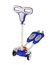 The Flyer's Bay 4 Wheel Flip Flop Scooter - Blue