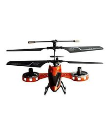The Flyer's Bay 4 Channel Remote Controlled Avatar Helicopter Toy - Orange
