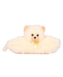 Ultra Folding Pillow Cat 11 Inches - Cream