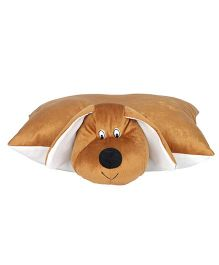 Ultra Dog Applique Cushion - Brown