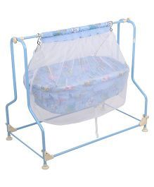 Infanto Baby Cradle Cocoon With Mosquito Net - Blue