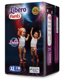 Libero Pant Style Diapers Extra Large - 8 Pieces