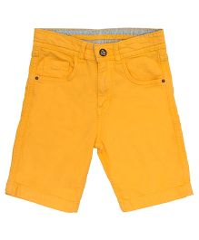 Bees And Butterflies Shorts - Yellow