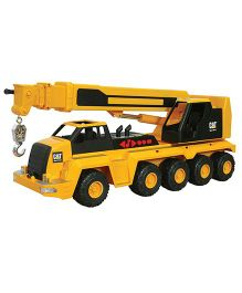 CAT Massive Machine 10 Wheel Crane Toy - Yellow