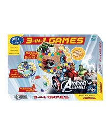Sterling Marvel Avengers Assemble 3 In 1 Game