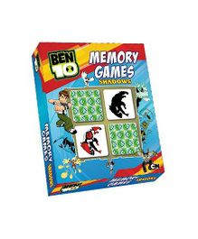 Sterling Ben 10 Ultimate Alien Memory Game Shadows - 52 Cards