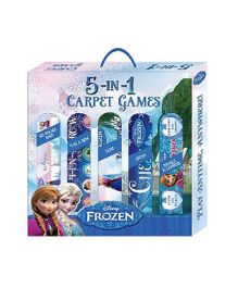 Sterling Disney Frozen 5 In 1 Carpet Game