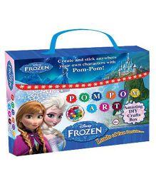 Sterling Pom Pom Art Frozen