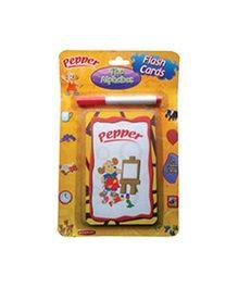 Sterling Pepper Flash Cards