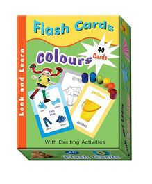 Sterling Flash Cards - Colours
