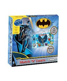 Sterling Batman Match N Learn Puzzle - 50 Pieces
