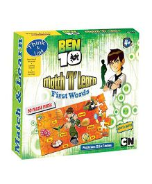 Sterling Ben 10 Match N Learn Puzzle - 50 Pieces