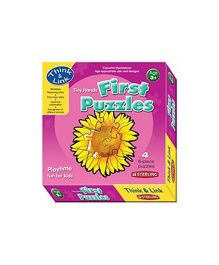 Sterling First Puzzle - Flowers