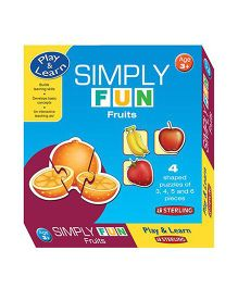Sterling Simply Fun Puzzle - Fruits