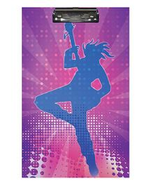 Sterling Clip And Drawing Board - Rockstar Theme
